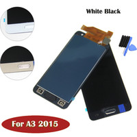 Wholesale Galaxy S3 Lcd Kit - High Quality For Samsung A3 A5 LCD Digitizer Touch Full Assembly 100% tested with free DHL and repair Tool kit