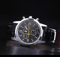 Wholesale Geneva Hours - Geneva Brand Fashion Sport Watch Men Watch Leather Quartz Watch Casual Watches Hours montre homme relogio masculino reloj hombre