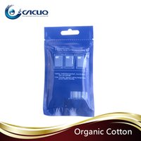 organic led - Original Youde UD Muji Cotton japan organic cotton Pad for DIY e liquid leading wire cotton wick