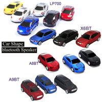 Wholesale car shape mini mp3 player for sale - Cool Bluetooth speaker Top Quality Car Shape Wireless bluetooth Speaker Portable Loudspeakers Sound Box for iPhone Computer MIS131