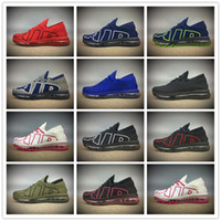 Wholesale Half Points - hot sell 2017 knitting Air men running shoes Flair male breathable sports shoes with half size