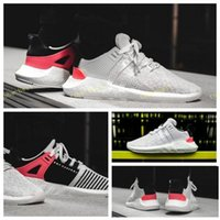 Wholesale boots size 44 - 2017 New Arrival EQT Support Future Boost 93 17 White Pink Mountaineering Man's BB0768 BA7473 Sneakers women's Running Shoes Size 36-44
