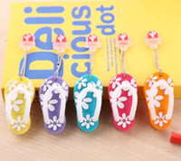 Wholesale Flip Usb - Flip Flops USB Stick Slippers USB Flash Drives Memory Stick Silicone Rubber 2GB 4GB 8GB 16GB + Tin Box