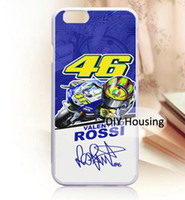 Wholesale Iphone 4s Doctor Covers - Free Shipping Phone Case Cool Doctor Rossi VR46 cover Plastic Hard Back case for iPhone 4s 5s 5c 6 6s Plus iPod touch 4 5 6 Samsung s6 edge