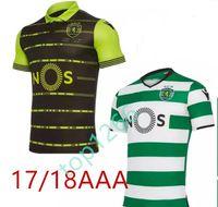 Wholesale Portugal Xl Soccer Jersey - 2017 2018 Sporting Clube de Portugal Lisbon Futbol Camisa Lisboa Dost Martins Soccer Jerseys 17 18 Football Camisetas Shirt