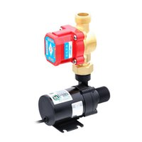 Wholesale High Water Switch - 2016 Best Selling High Head Brushless DC water pump 12V 24v with Flow switch