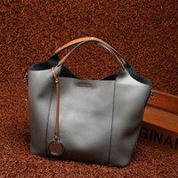 Wholesale Small Mother Bag - Genuine leather bag Cowhide mother handbag shoulder Messenger designer handbags high quality for women 2017