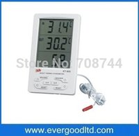 Wholesale Temperature Meter Digital Multi - Wholesale-KT903 Multi-function Digital LCD Temperature Thermometer Humidity Meter