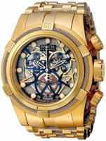 Wholesale Bolt Zeus - 2016 Relogio Men In13757 Reserve COSC Bolt Zeus Gold Plated Swiss Chronograph Watch