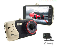 ips vídeos venda por atacado-4.0 Polegada IPS Tela Do Carro DVR Novatek NTK96658 Câmera Do Carro T810 Traço Da Câmera Full HD 1080 P Vídeo 170 Graus Traço Cam