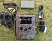 kamerabatterien geben verschiffen frei großhandel-SunTek HT-002LIM Löwe-Batterie 12MP HD IR wild lebende Tiere GPRS / MMS Jagd-Hinterkamera freies Verschiffen
