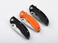 Wholesale shootey knives for sale - Group buy Tactical Tool SHOOTEY Flip Folding Knives CR15 Steel HRC Pocket EDC Folding Blade G10 Handle Survival Knife Hiking Gift Knife F834E