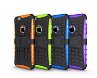 Wholesale Galaxy S4 Shockproof Case Kickstand - Kickstand Hybrid Case For Iphone 5 5S 4G 6 6S Plus Ipod touch 5 5th Samsung Galaxy S3 S4 S5 S6 Edge Plus S7 OnePlus 3 ShockProof Rugged Skin