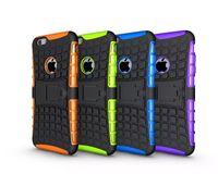 iphone 5th hüllen großhandel-Kickstand-hybrider Fall für Iphone 5 5S 4G 6 6S plus IPod-Note 5 5. Samsung-Galaxie S3 S4 S5 S6 Kante plus S7 OnePlus 3 ShockProof robuste Haut