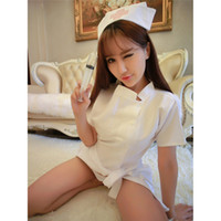 Sexy Infermiera Costume Set Fantasie Costume Cosplay Sexy Infermiera Uniforme Tempt Dress Women Erotic Lingerie femminile Sexy Uniforme