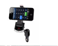 2016 Bluetooth Car Kit Mont Phone Holder USB Transmetteur FM Chargeur Lecteur MP3 Noir Couleur BT8118