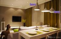 ingrosso luci abc-Luci moderne del progetto dell'hotel del ristorante del bar minimalista. Tre lampadari musicali ABC. Splendido lampadario in bronzo in metallo creativo