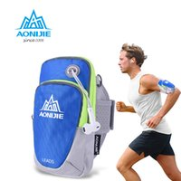 Vente en gros - AONIJIE Femmes Hommes Bras de course Pack Léger Sports de plein air Course de randonnée Camping Mountaineering Gym Fitness Mobile Phone Bag