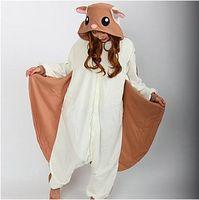 Wholesale Kigurumi Squirrel - Wholesale-Flying Squirrel Polar Fleece Kigurumi Pajamas Cosplay Costumes