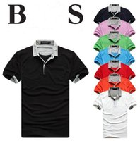 Wholesale Hand Painted Prints - Wholesale-2016 Summer Hot Sale Polo Shirt USA American Flag Brand Polos Men Short Sleeve Sport Polo Man Coat Drop Free Shipping