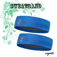 Wholesale gym headband for sale - Group buy 2016 Brand Fashion Women Men Sports Headband Wide Elastic Hairband Unisex Stretchy Sweatbands Yoga Gym Hair Head