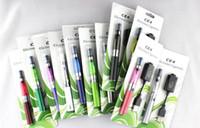 ego ce5 e cig blister kiti toptan satış-100% En Kaliteli 650 mAh Pil eGo CE4 CE5 E Sigara Elektronik Sigara Başlangıç Kiti Blister Kitleri ile hiçbir fitil / uzun fitil VS eGo-T Pil DHL