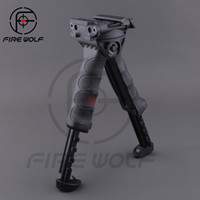 Wholesale New Defense - 2017 New MAKO FAB Defense T-POD G2 Vertical Foregrip w Incorported Swivel Bipod Black for hunting