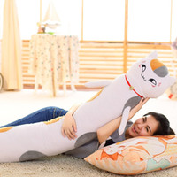 Wholesale Graduation Plush Toys - Natsume's Book of Friends Plush In Stock Long Bolster Blue Yellow New Arrival Japan Anime Toy