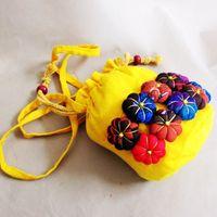 Wholesale Kids Cross Shoulder Purse - 2016 Women Children Kids Girls Casual String Bucket Handbag Messenger Shoulder Bag Cross Body Handbags Tote Purse Satchel Hobos B6504
