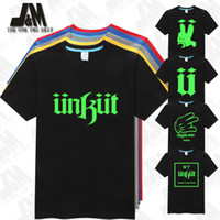 Wholesale Glow Tshirt - Wholesale-unkut men t shirt cool t-shirt glow in the dark summer short sleeve tshirt fashion tee S-6XL