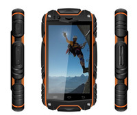 Wholesale Discovery Smart Phones - Discovery V8 Waterproof Cell Phone Quad Core MTK6582 android 4.2 3G GPS 4.0inch Screen 1.3GHZ 5MP Dustproof Shockproof Outdoor Phone