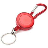 Perfect-2 PCS BADGE REEL - RICARICABILE RECOIL YOYO SKI PASS ID CARD HOLDER CHIAVE CHIAVE Quantità: 2Pcs