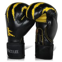 Wholesale Advance Gloves - 12 14oz Boxing Gloves Advanced Edition Fighting Sports Wearable Breathable For Training Free Shippin