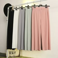Wholesale Casual Dress Pant Legs - All-match Slim trousers Summer dress Women's clothing Thread New pattern Ninth pants Large sizes Loose trousers Casual pants fashion