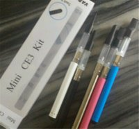 Wholesale Ego O Mt3 - BUD Touch Mini CE3 Blister Kit Various Colors O-Pen 280mah Wax Oil Vaporizer Electronic Cigarette CE3 vs eGo CE4 eVod MT3 Starter Kits