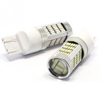 1 Pcs 12V T20 7440 7443 w21w W21 / 5 W 4014 92 SMD LED queue stop freins feux clignotants ampoule de stationnement