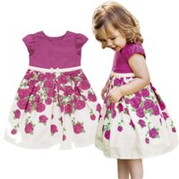 Wholesale beautiful tutu for girls for sale - Group buy PrettyBaby New Summer dress for girls Beautiful girl rose princess sleeveless dresses children dresses Party Vest Dress