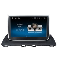 "Wholesale Mazda Android Radio - 9"" Android 7.1 System Car DVD Multimeida For Mazda 3 Axela 2014+ Radio Receiver GPS WIFI 4G OBD DVR Mirror Screen HDMI 2G+16G RAM Quad Core"