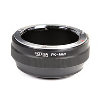 Wholesale Micro Lens Adapters - FOTGA Pentax PK Lens To Micro 4 3 M4 3 Adapter For E-P1 EP2 EPL1 GF1 GF2 G1 G2 G3