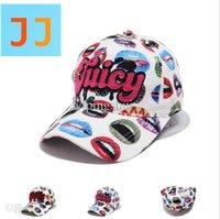 Wholesale Lip Snapback - Wholesale-Lips letters fashion hat star hipster wholesale baseball caps 2015 cap snapback