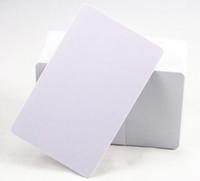 impresora de tarjetas de inyección de tinta al por mayor-Tarjeta en blanco imprimible del PVC del chorro de tinta 100pcs / lot para la impresora de Epson, para la impresora de Canon