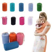 Wholesale Infant Carrier Stroller - Baby Wrap Rope Infant Newborn Baby Carrier Sling Breastfeed Gear Infant Strollers Gallus Hipseat Backpacks Backtowel 30pcs OOA2635