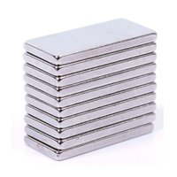 Wholesale 20Pcs New Stable Strong Block Cuboid Fridge Magnets Rare Earth Neodymium x10x2mm
