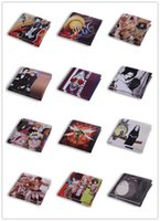 Wholesale Double Fold Wallet - Popular with students hot selling wallets DHL free shipping wallets cartoon characters wallet double fold PU material
