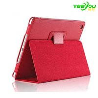 Wholesale Iphone Covers China Wholesale - For iPhone iPad Case Cover Stand 2 Fold Litchi Folio Magnetic PU Leather For iPad Mini 2 3 4 5 6 Air Pro
