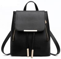 Wholesale backpack professional resale online - women backpack New Arrival Backpack Style Fashion Student Bag Brand Lady bags Skull crystal Professional Women Wholse leather
