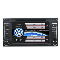 Wholesale Car Navigation 2din - NEW 2Din 7inch Car DVD Built-in GPS Navigation Bluetooth MP3 MP4 1080P play for Volkswagen Touareg   T5