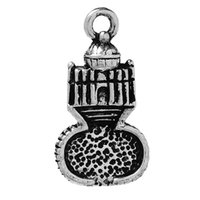 "Wholesale Antique Saint - Charm Pendants Saint Peter's Basilica Antique Silver 24mm(1"") x 13mm( 4 8""),20 PCs 2016 new jewelry making DIY"