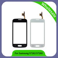 Wholesale Digitizer Star - 4.0 inch S7262 Digitizer For Samsung Galaxy Star Pro S7262 GT-S7262 S7260 Touch Screen Panel Sensor Lens Glass White Black