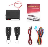 Wholesale window switches for sale - Group buy LB L240 Automobile Remote Central Lock Keyless Entry System Power Window Switch Car Alarm Remote car location